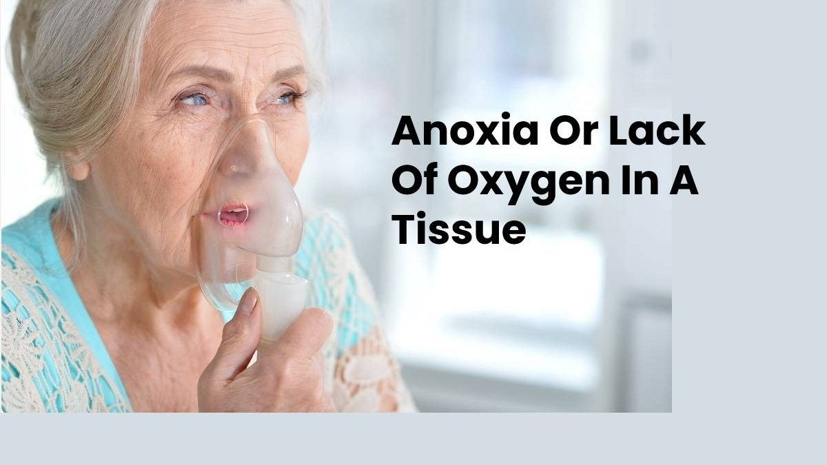 Anoxia Or Lack Of Oxygen In A Tissue