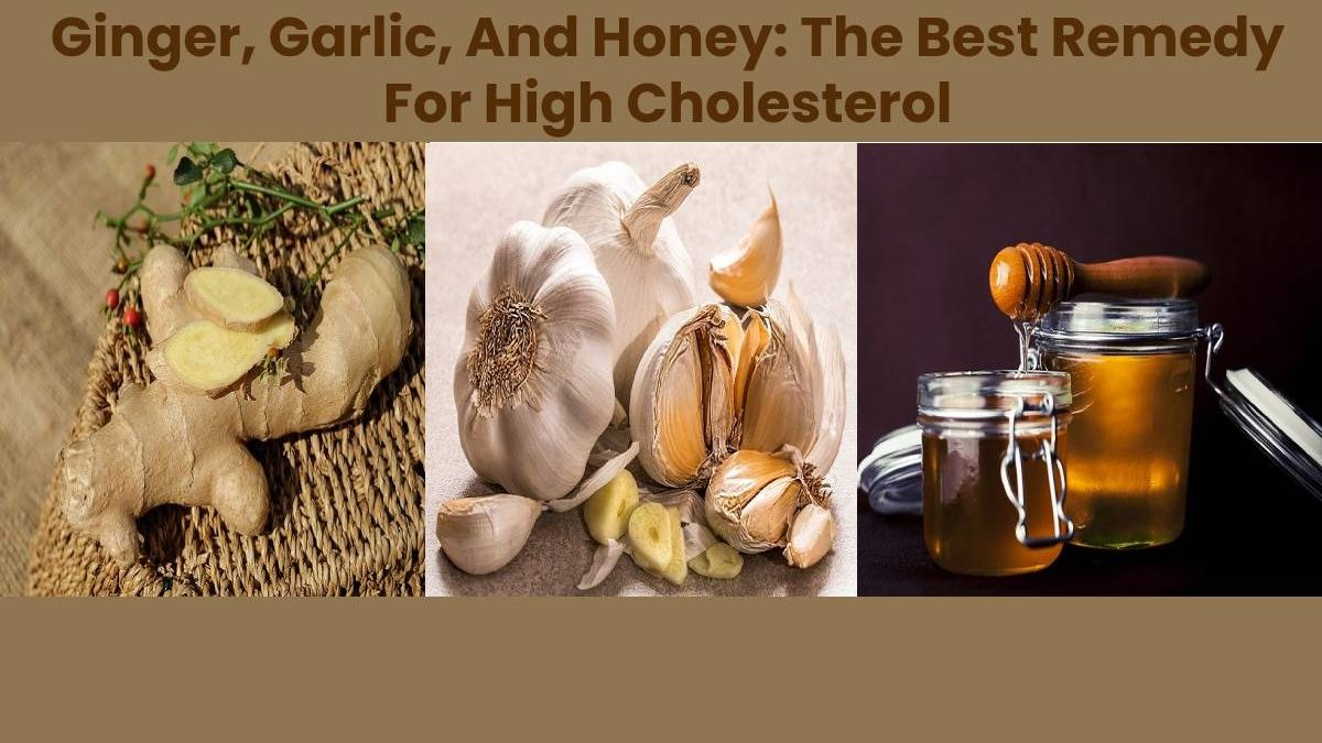 Ginger, Garlic, And Honey: The Best Remedy For High Cholesterol