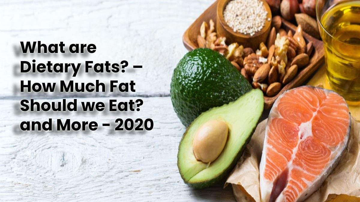 What are Dietary Fats? – How Much Fat Should we Eat? and More