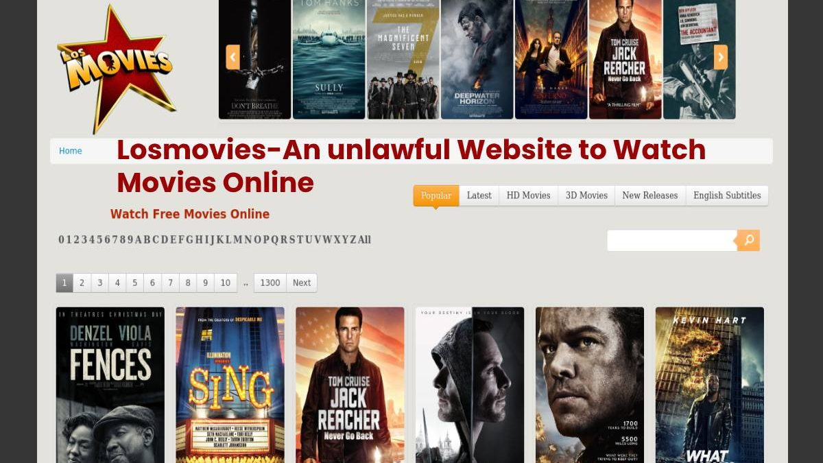 Top 7 Alternative Websites to Losmovies to Watch Free Movies and Tv Shows