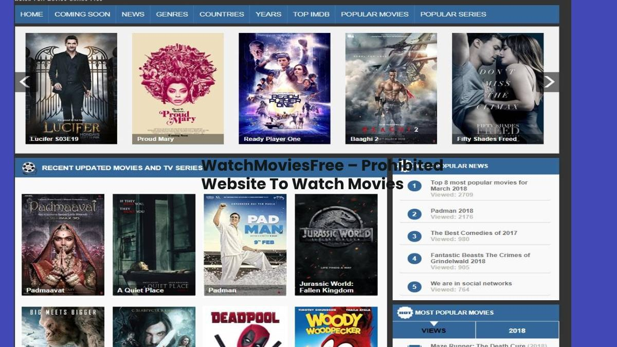 WatchMoviesFree 2020 – Watch online Movies & TV Series for free in HD Quality