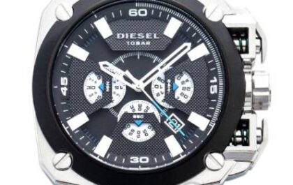 Three Unusual Wrist Watch Designs From The Diesel Wristwatch Collection